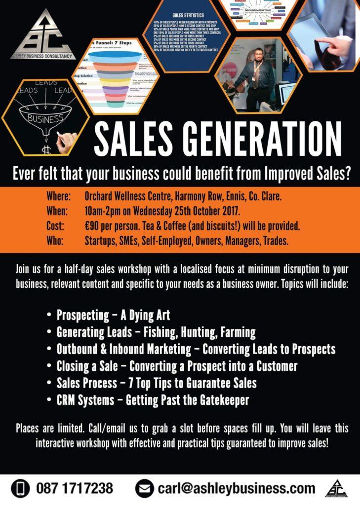 Sales Generation Workshop